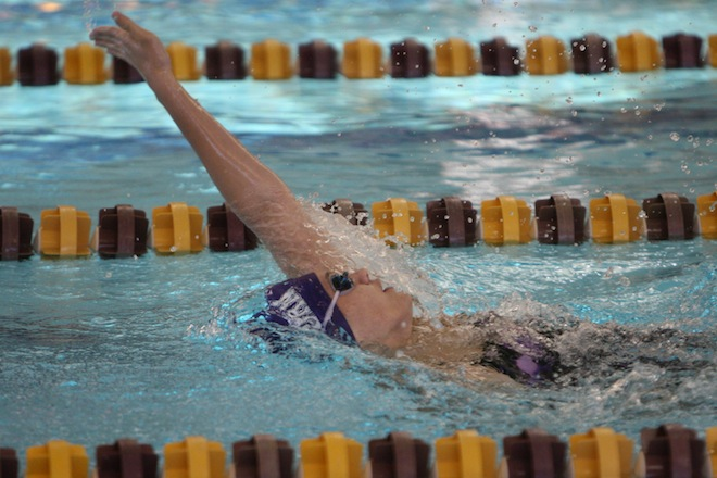 Swimmers post strong times at DeForest