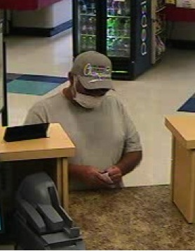 Masked man robs Associated Bank