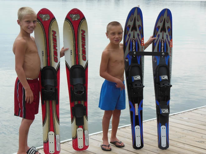 Boys born with half a heart inspire ski team fundraiser