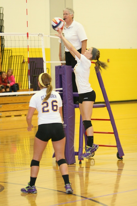 Volleyball team takes second