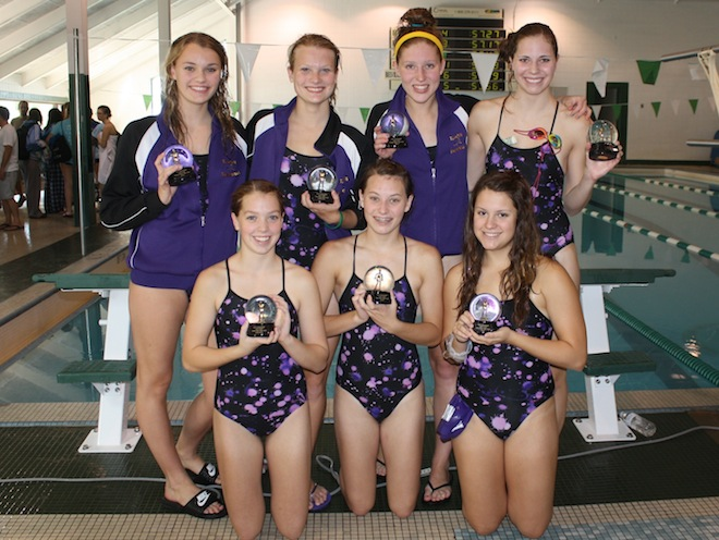 Elkhorn swimmers post strong finishes at Hononegah