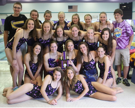 Elk swimmers bring home team title from Waunakee