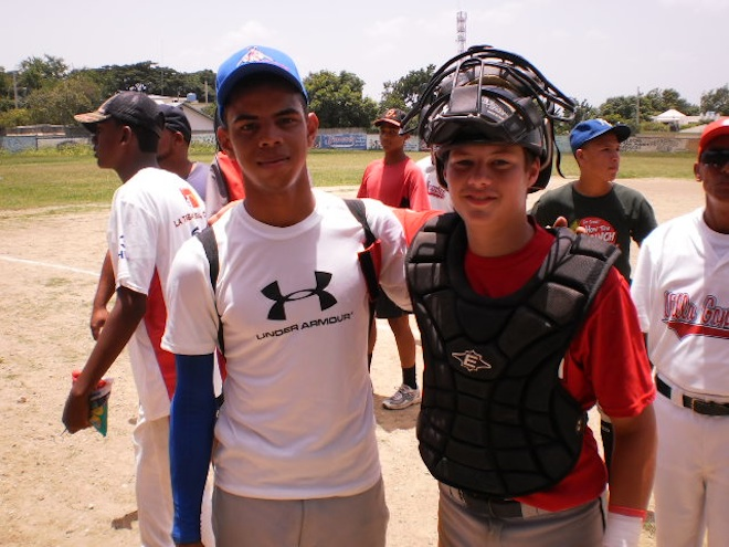 Teen lives baseball dreams in Dominican Republic