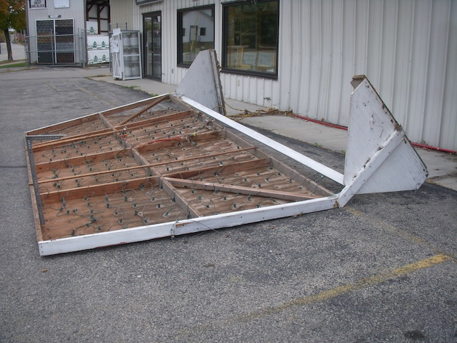 Vandals strike at Home Lumber, $1,000 reward offered