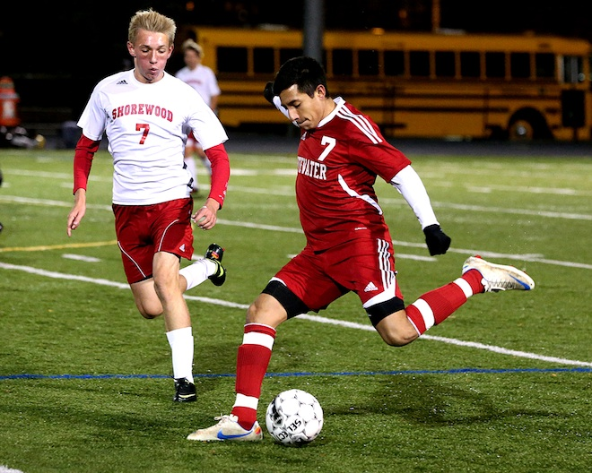Whippets' soccer season ends with loss to Shorewood