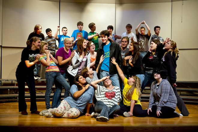 WHS Players prepare to get 'All Shook Up'