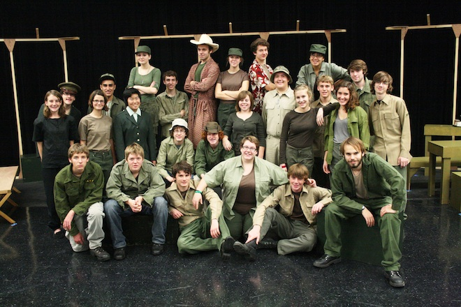 East Troy High School players bringing 'M*A*S*H' to town