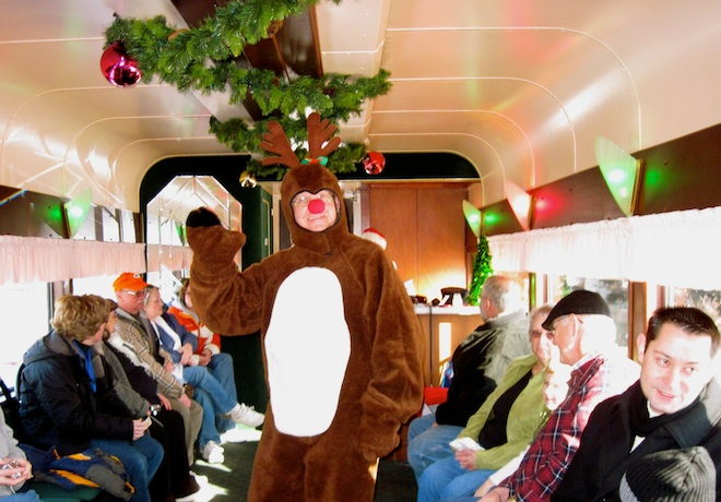 Christmas Express returns this weekend