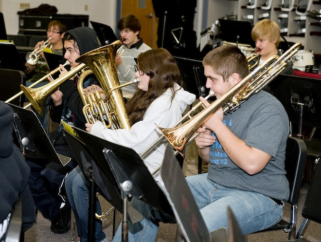 WHS jazz program gets boost with grant