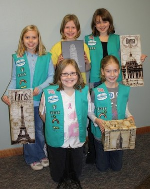 Girl Scout troop planning trip to Europe