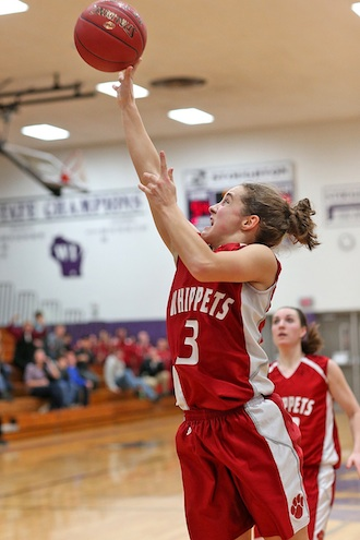 Whippet girls score big victory
