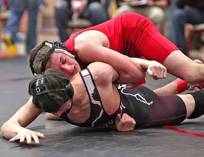 Wrestlers finish fifth at RVC Meet