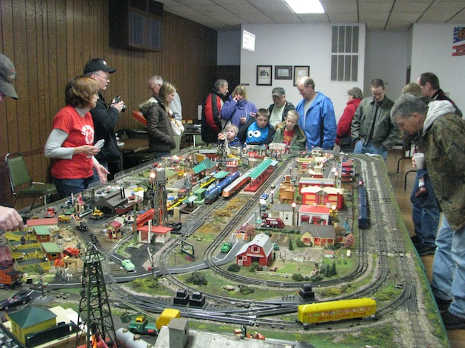 All aboard for train show