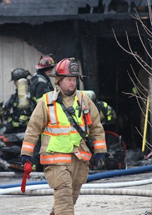 15 departments battle three-alarm fire
