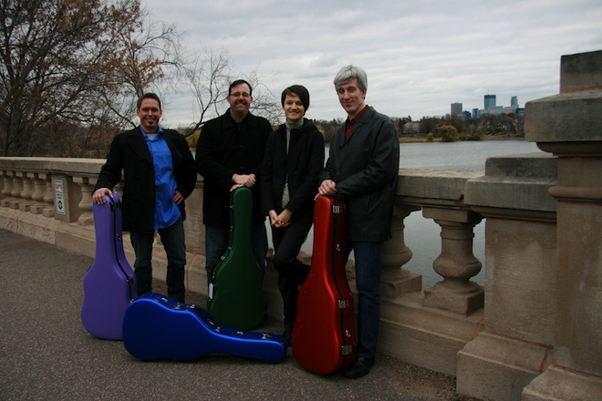 Minneapolis Guitar Quartet to perform at Young Auditorium