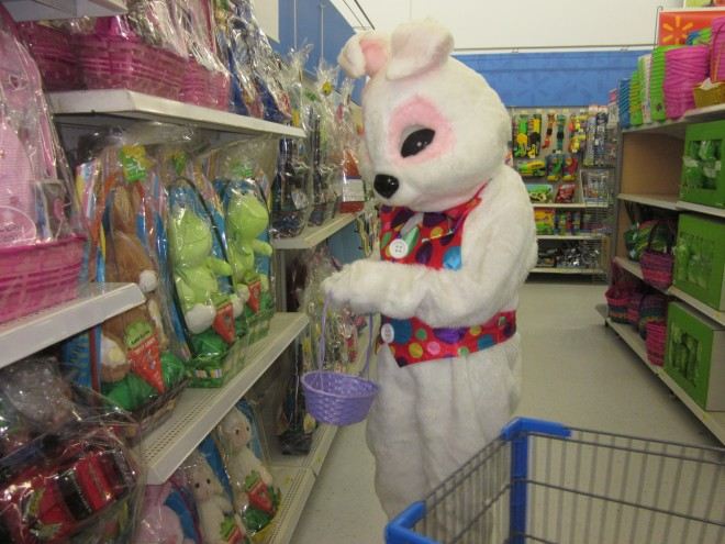 Easter Bunny hops into Whitewater