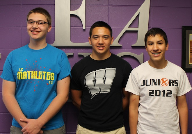 Three EAHS students to attend Badger Boys State
