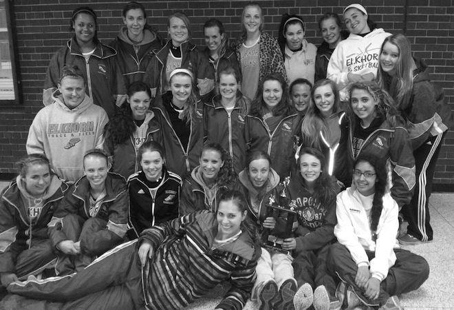 Elk girls win  team title at Edgerton Tider Invite