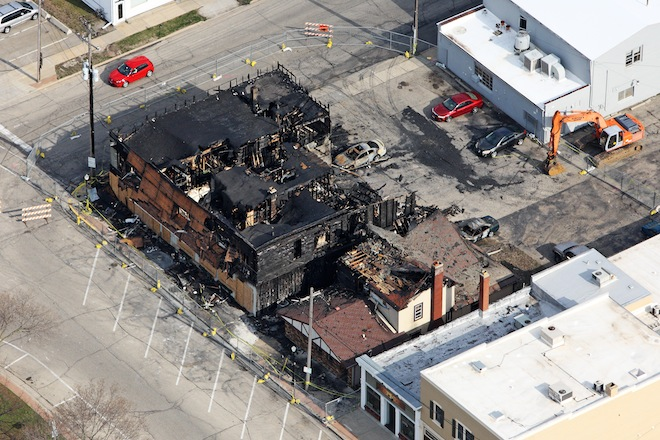 East Troy buildings to be razed after downtown fire