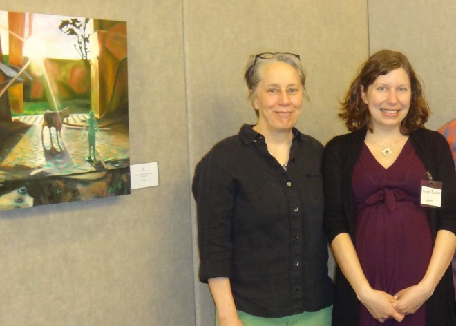 On display: Local art instructor exhibits at Cultural Arts Center
