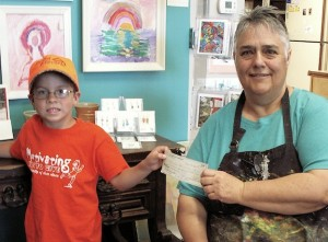 Studio 84 is recipient of donation via Motivating Kids to Give