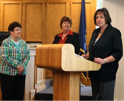County worker recognized nationally