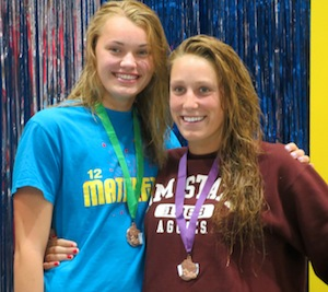 Elkhorn natives help swim club takes 5th at state championships