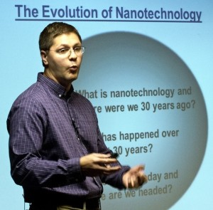 'Turning Points' lecture tackles nanotechnology