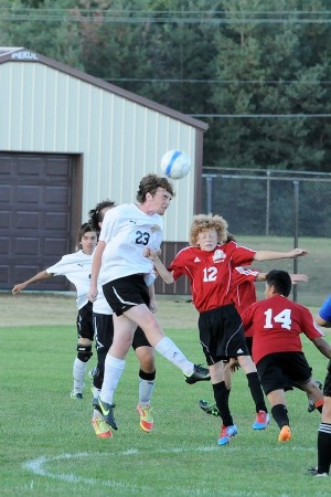 Soccer teams bounces back after shut out