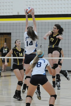 Girls volleyball team remains undefeated