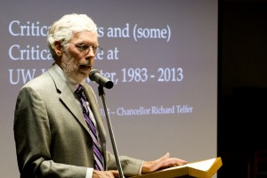 Telfer speaks at Fairhaven Lecture Series