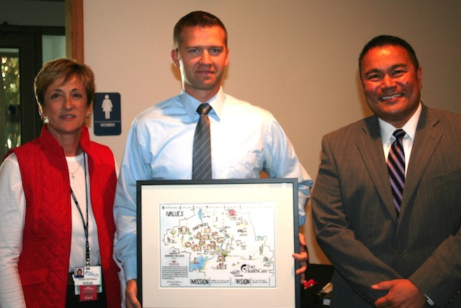 School district honored for wellness commitment