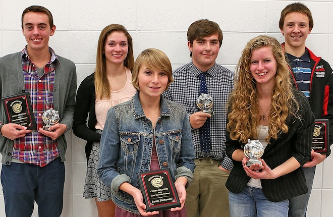 WHS cross country runners presented awards