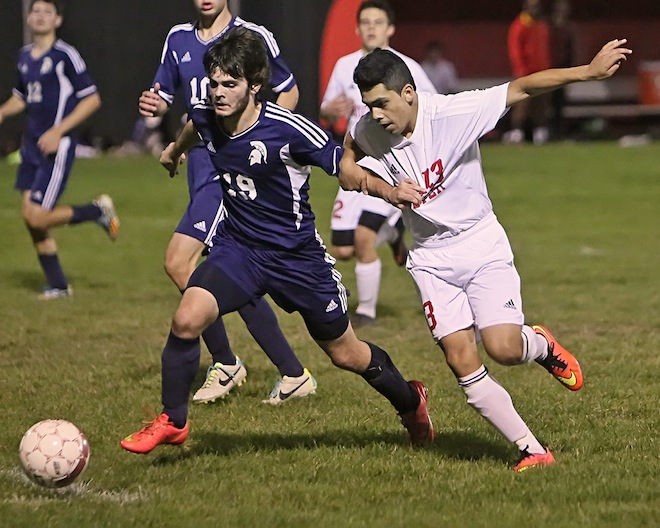 Tie and a win for Whippets soccer