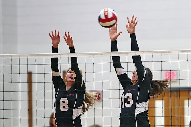 Volleyball, swimming teams continue to improve