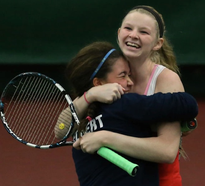 Tennis duo brings home state title