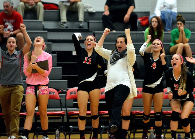 New volleyball coach positive about first year