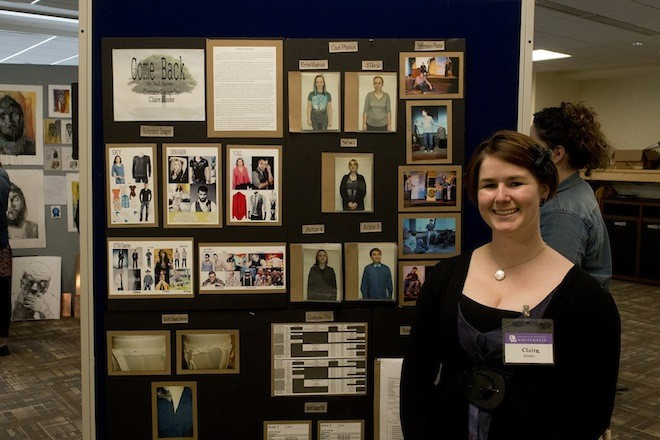 Badger grad presents research at UW-Whitewater