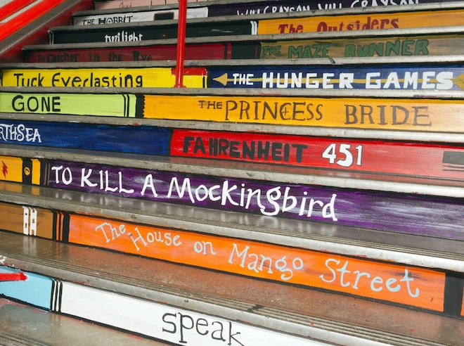 A stairway of literacy