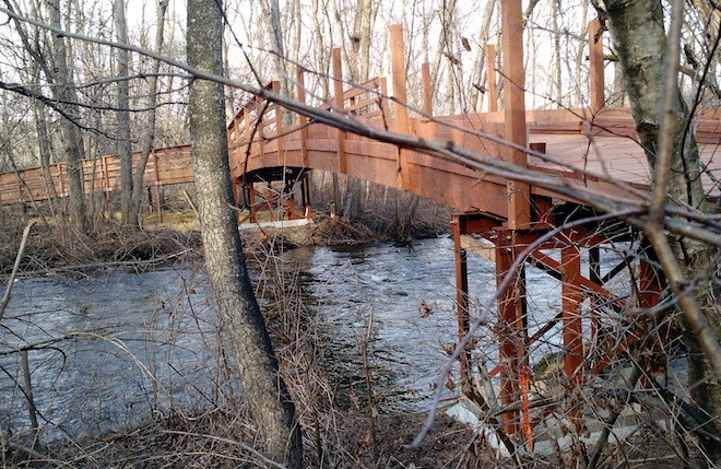 Bridges open at White River County Park