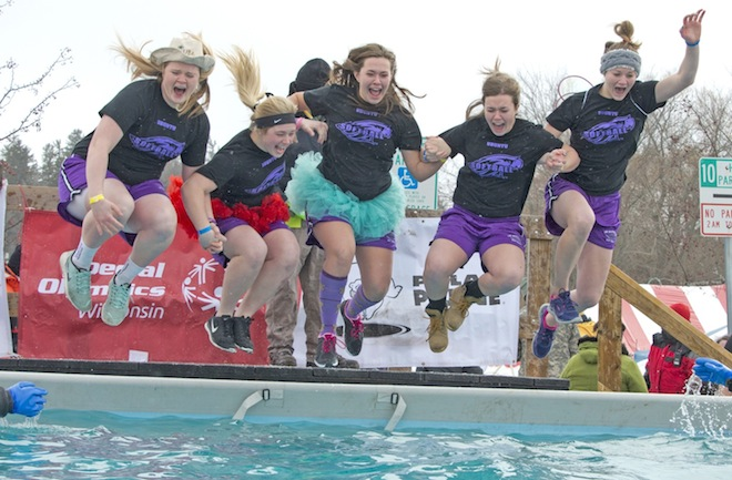Plungers will be 'Freezin' for a Reason' Saturday