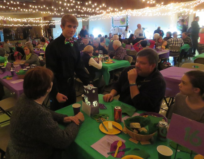 Our Redeemer youth group hosts Mardi Gras night