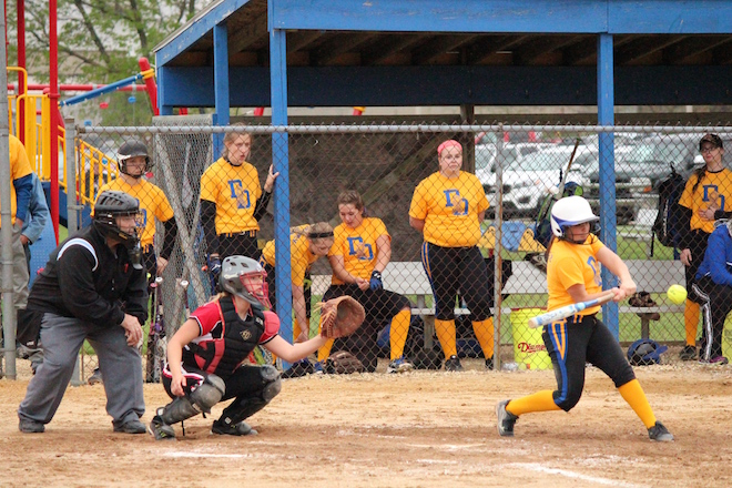Winning streak is back for softball team