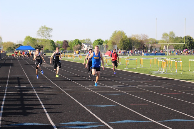Track teams compete in Borg Invite