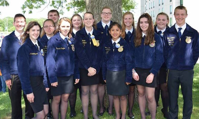 Badger FFA members head to nationals after success at sate convention