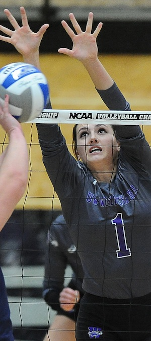 Racky named Volleyball All-American