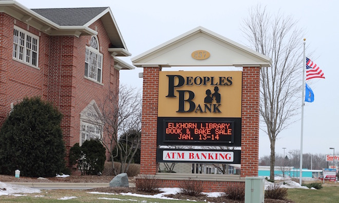 Peoples Bank to be purchased by credit union