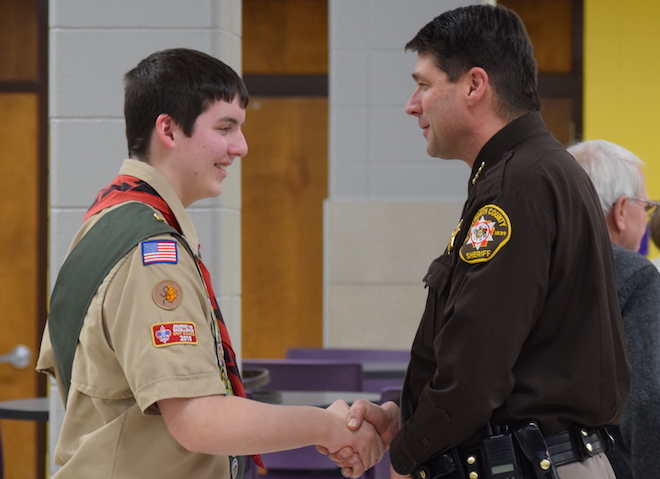 Local teen earns Eagle Scout ranking