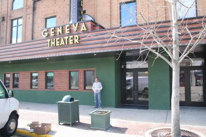Show time: Geneva Theater back in business