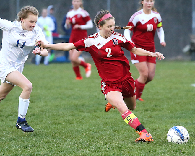 Whippets soccer team comes up a goal short in conference opener